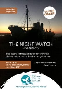 The Nightwatch Experience Flyer