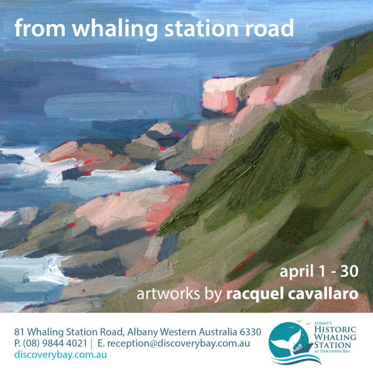 from whaling station road poster image