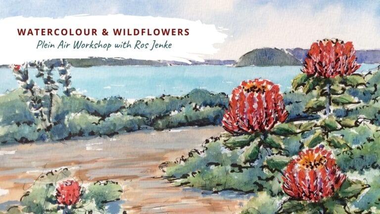 Watercolour & Wildflower workshop